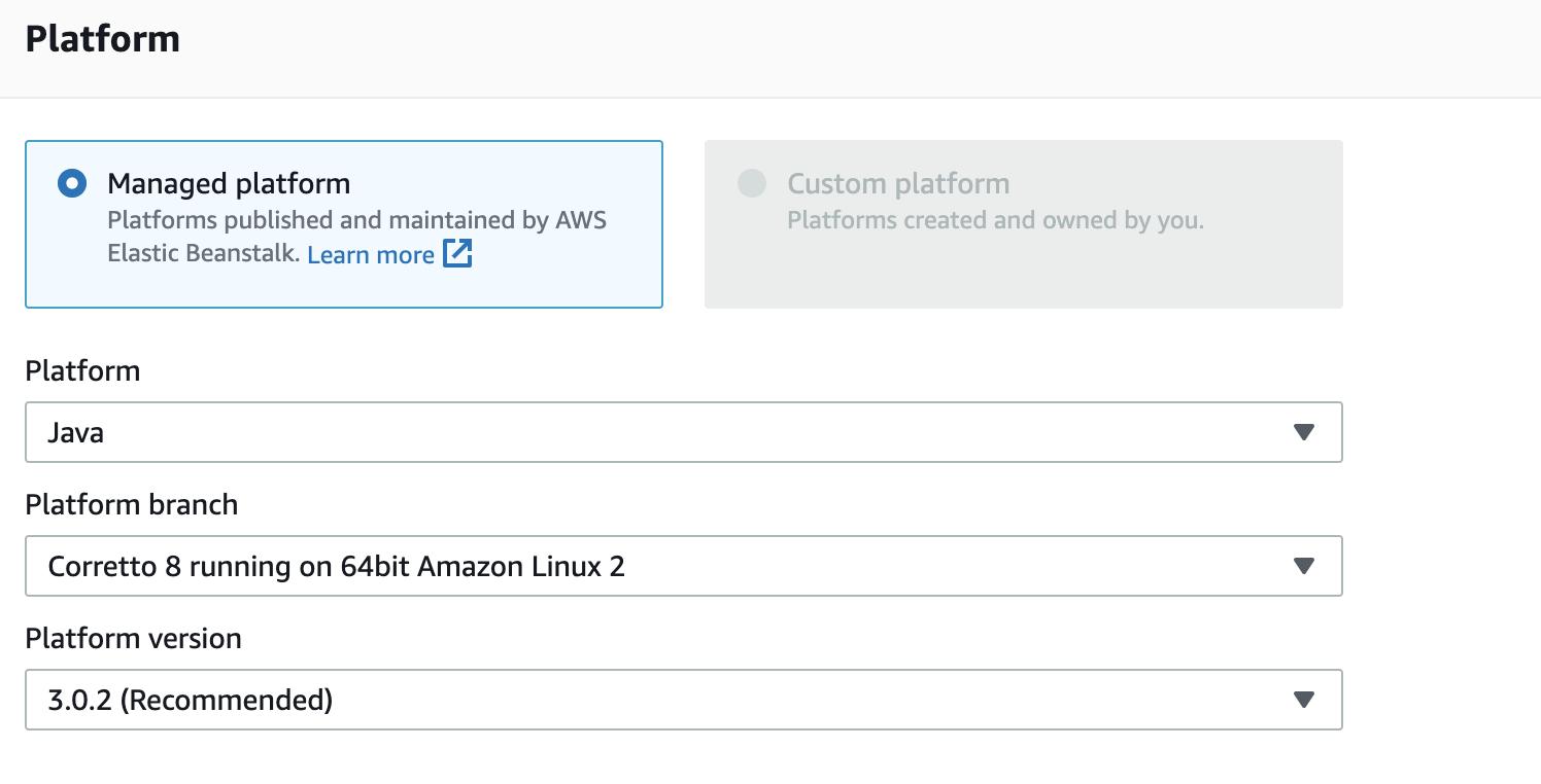 Platform Select Option